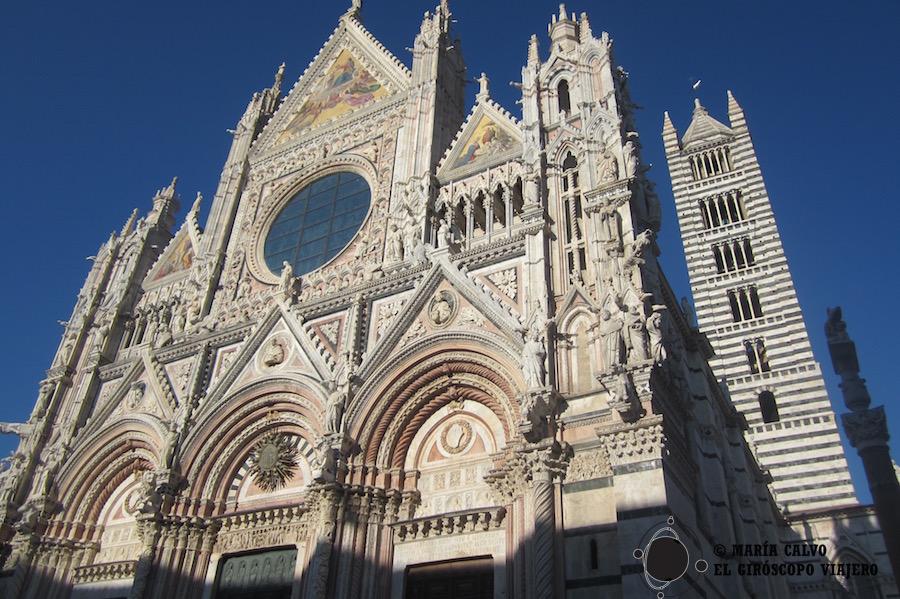 El Duomo de Siena, magnífico