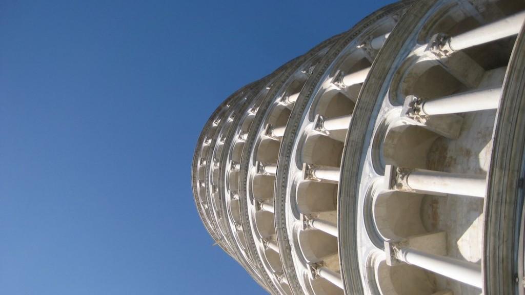 Aquí sí que está inclinada la Torre de Pisa. ©Iñigo Pedrueza.