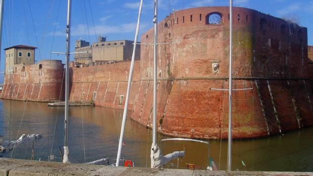 Fortezza Vecchia del puerto de Livorno