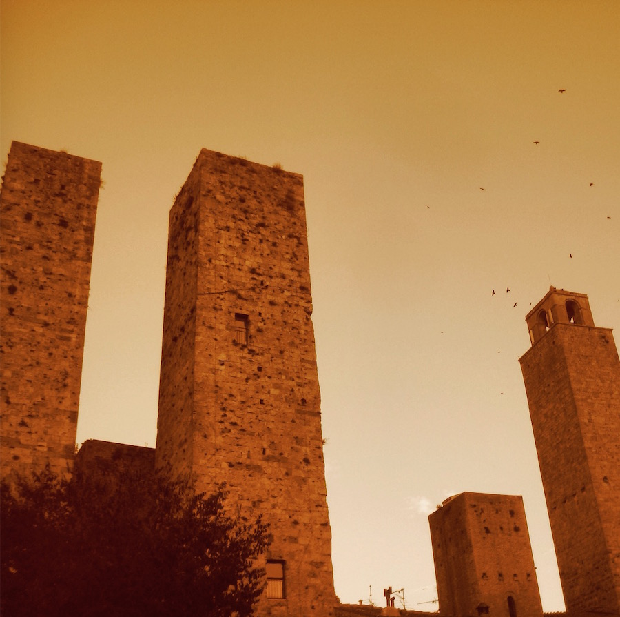 Torres del centro de San Gimignano. ©Iñigo Pedrueza.