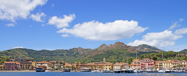 La belleza de Porto Azurro.