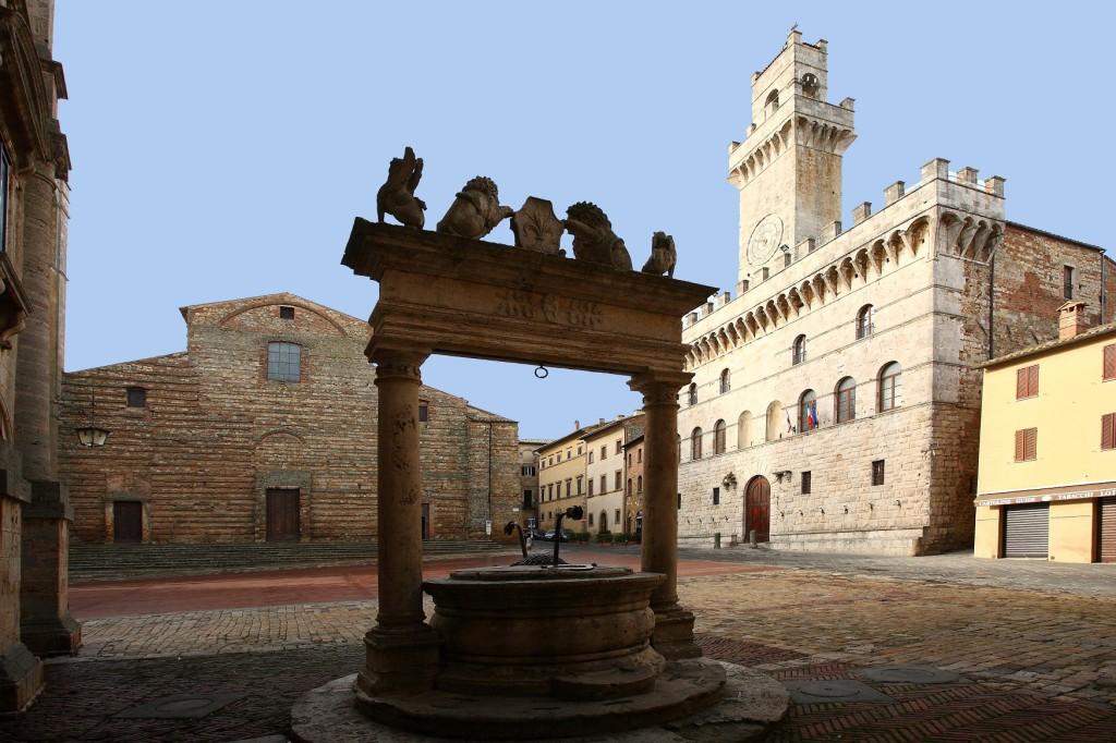 Piazza Grande, el centro de Montepulciano
