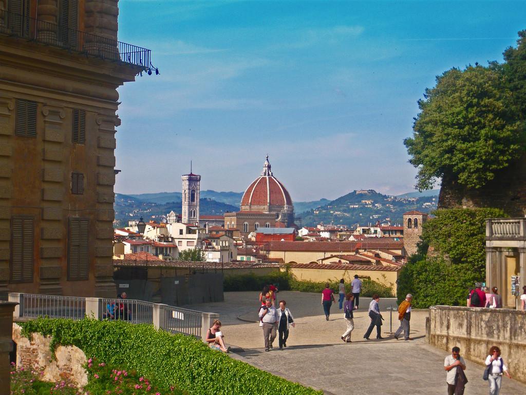 Florencia, magnífica, desde los Jardines Boboli. Foto de Giovanni.