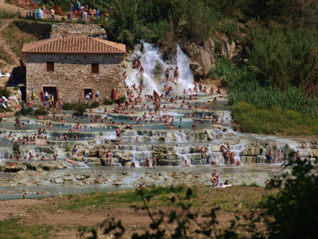 Las Termas de Saturnia son unas de las más bellas de Toscana. Foto de Laura Saviola.