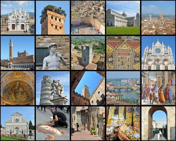 Monumentos de Toscana