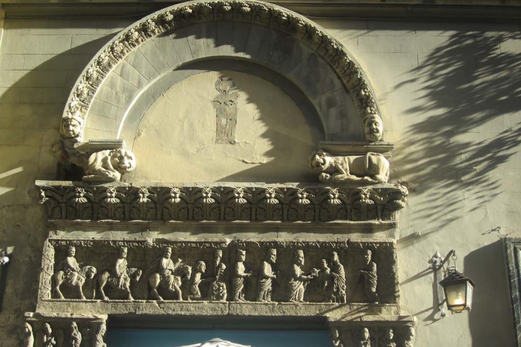 Detalles de las calles de Florencia. ©M. Calvo.