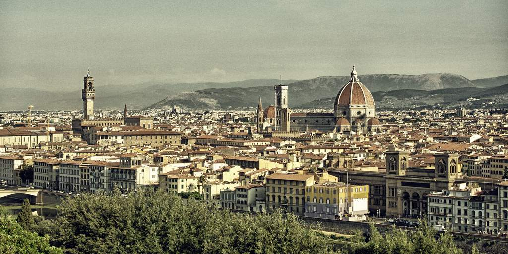Florencia, capital y centro de Toscana. Foto de Adam Smog.