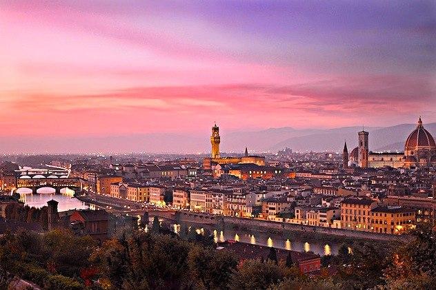 Florencia, capital de Toscana, urbe del Renacimiento y de la cultura. Foto de Piero Mirándola.