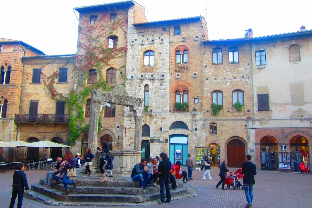 San Gimignano, un pueblo de parada obligatoria en el Valle del Chianti. © María Calvo.