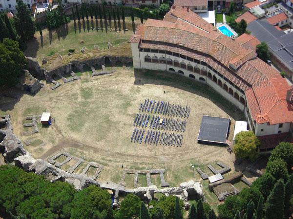 Anfiteatro romano de Arezzo