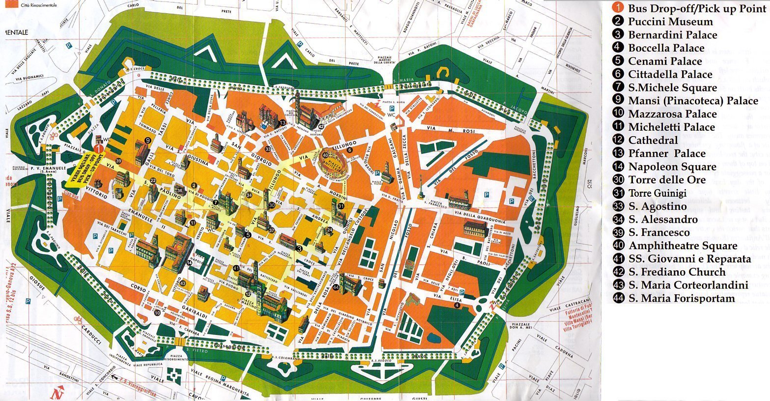 Lucca gu a y turismo en toscana for Oficina turismo roma