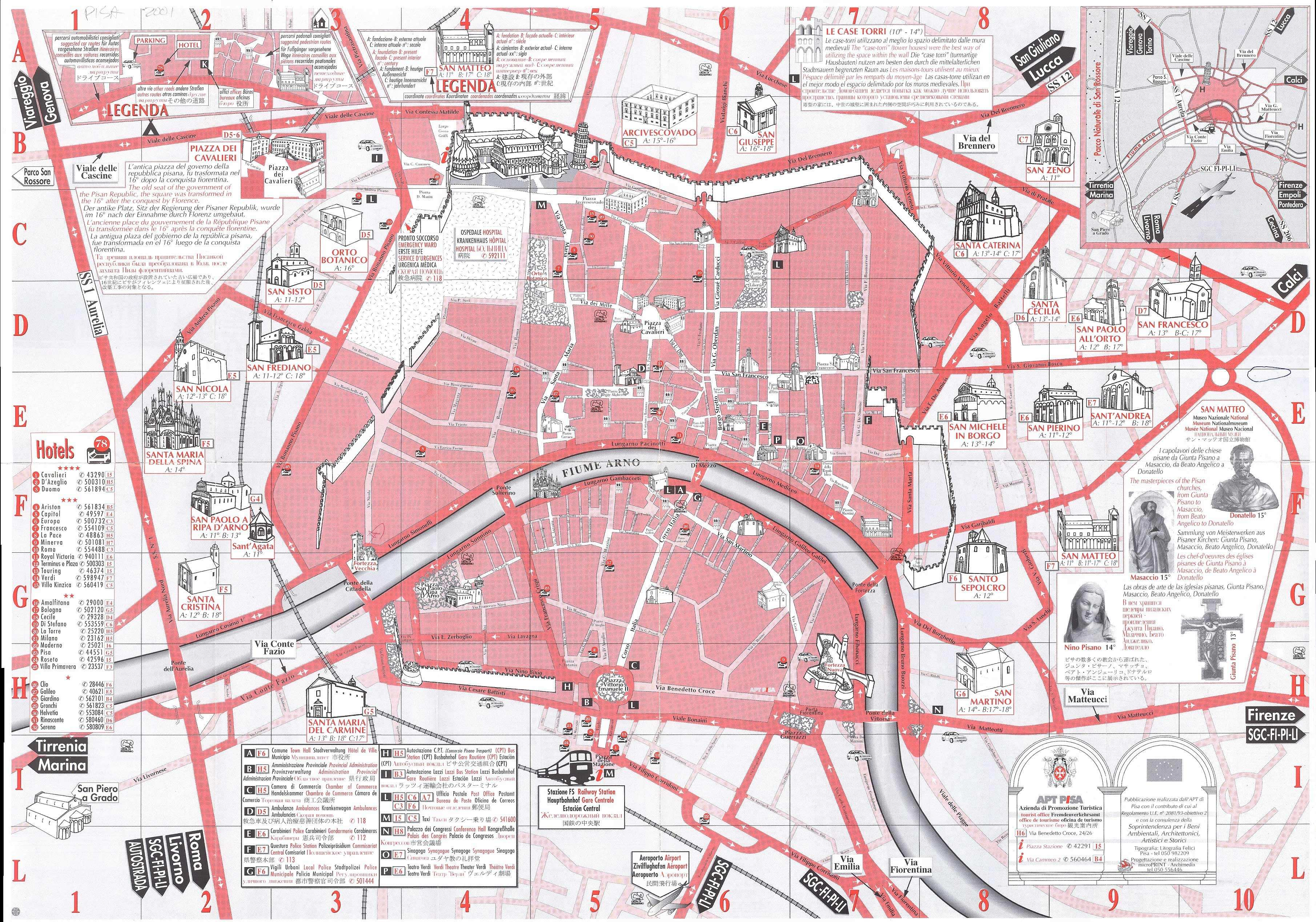 rome walking tour map pdf with Pisa on Berlin Top Tourist Attractions Map together with Pisa further Tour furthermore Tourist Map Paris Pdf further Globecorner   i t swparisd.