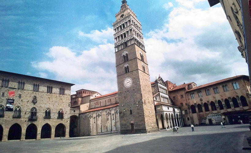 Plaza de la Catedral de Pistoia