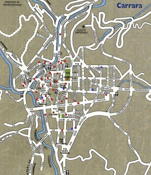 Mapa de Carrara