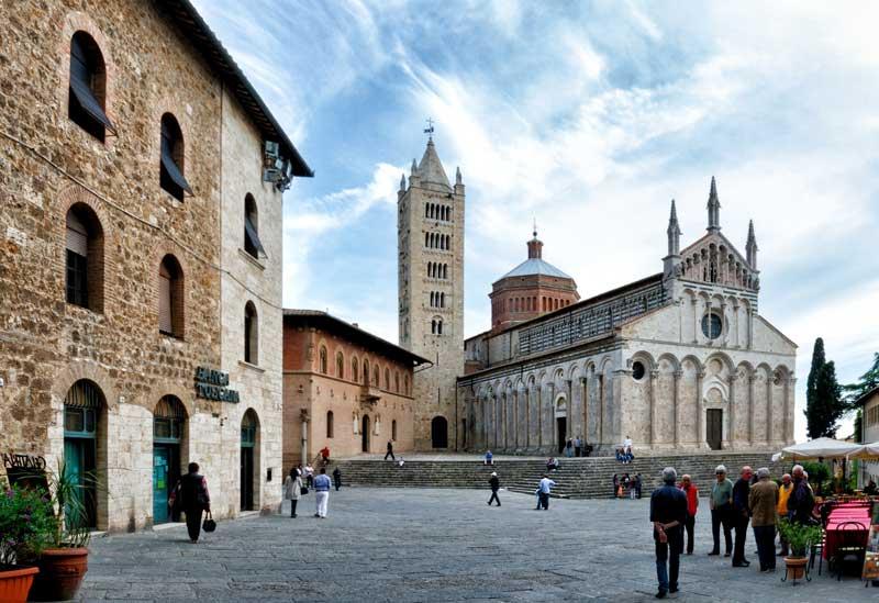 Piazza del Duomo de Massa Marittima