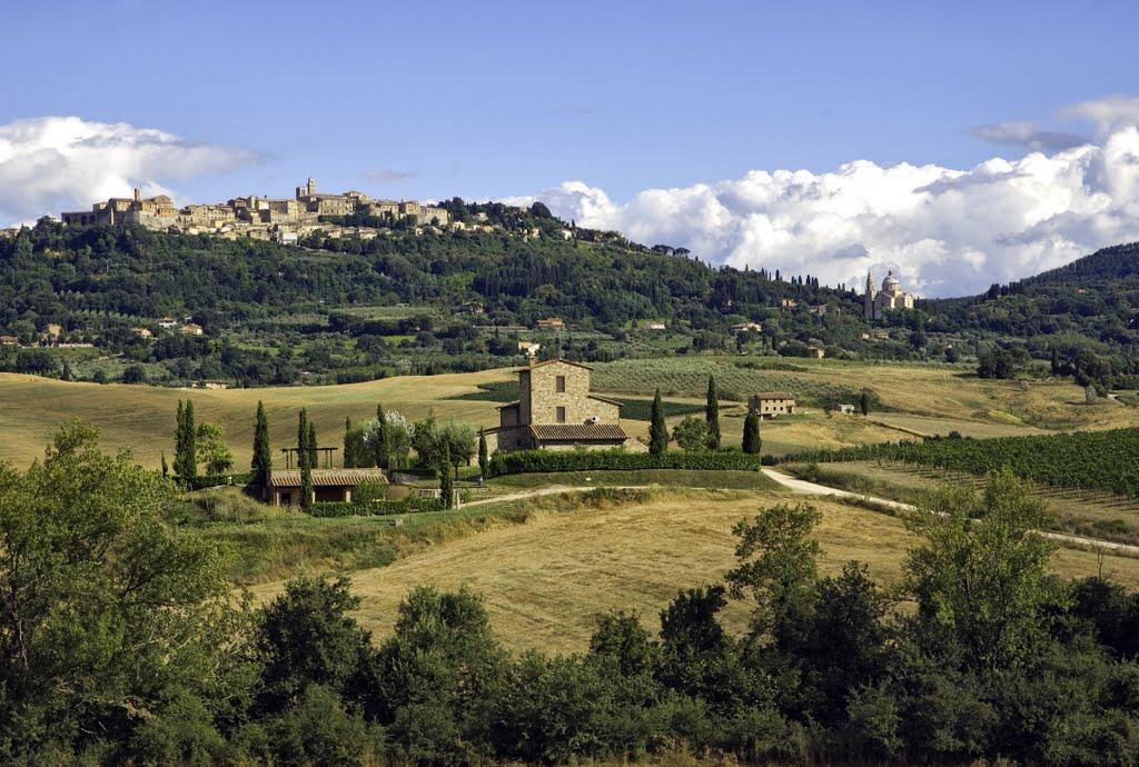 La colina donde duerme Montepulciano