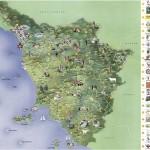 Mapas de Toscana