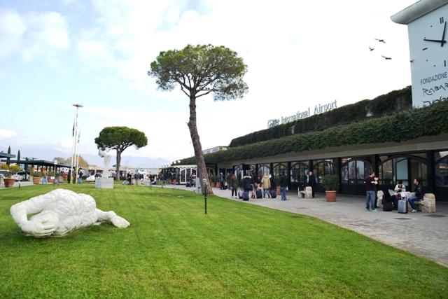El nuevo aeropuerto Galileo Galiei de Pisa.