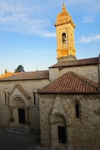 San Quirico de Orcia y su Colegiata románica. Una joya de pueblo. ©María Calvo.