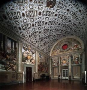 Villa Poggio en Caiano. Una de las residencias de los Medici.