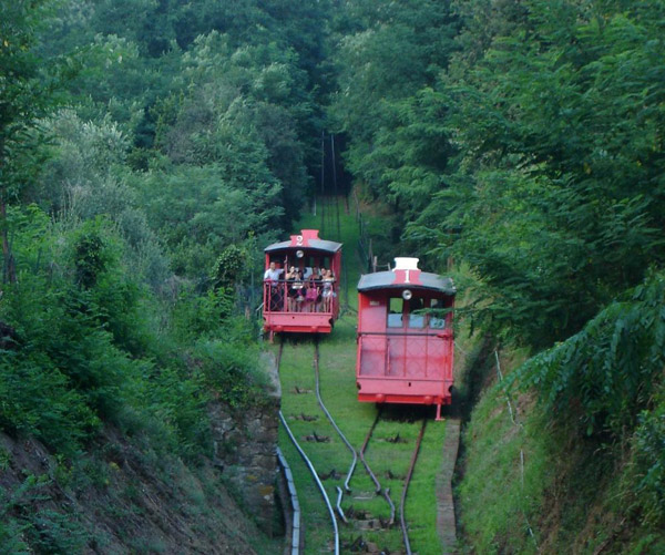 Funicular que sube a Montecatini Alto