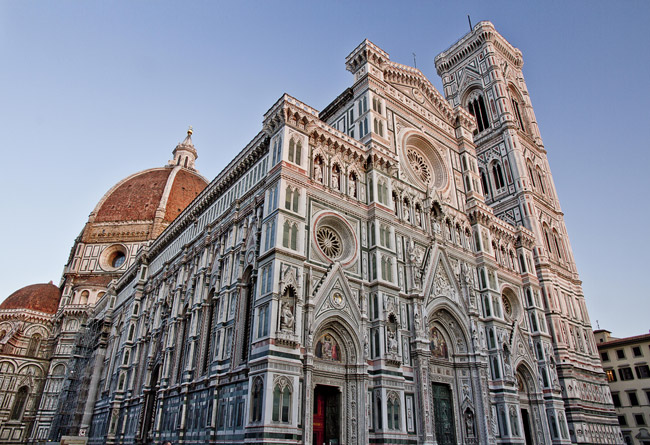 Fachada del Duomo de Florencia