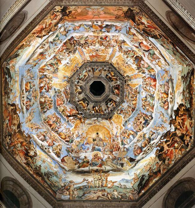 Frescos de la cúpula de la catedral