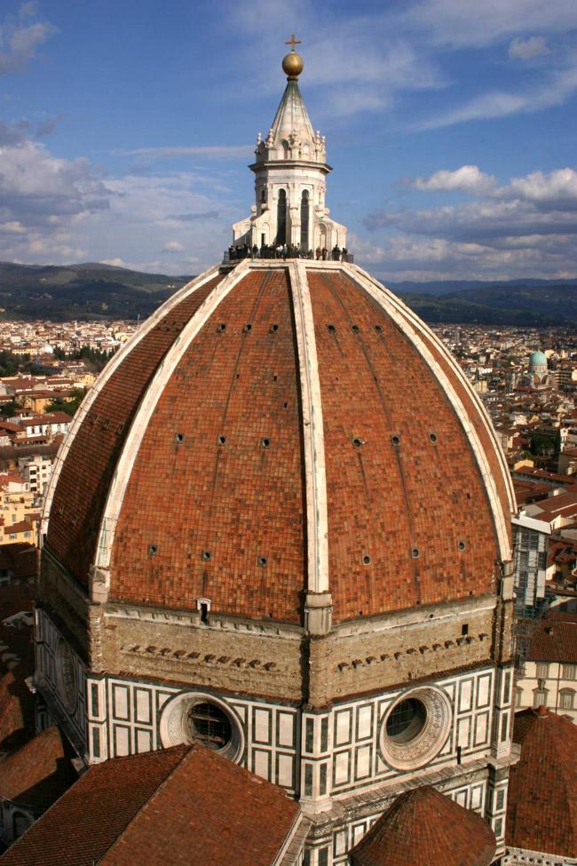Mirador de la cúpula del Duomo de Florencia