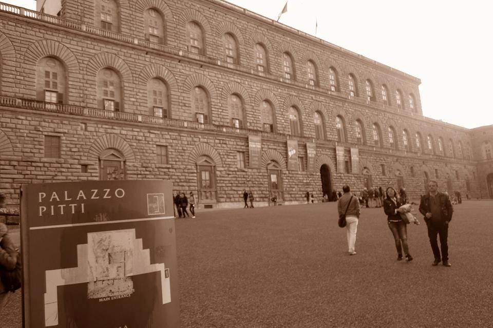 Visita al Palacio Pitti
