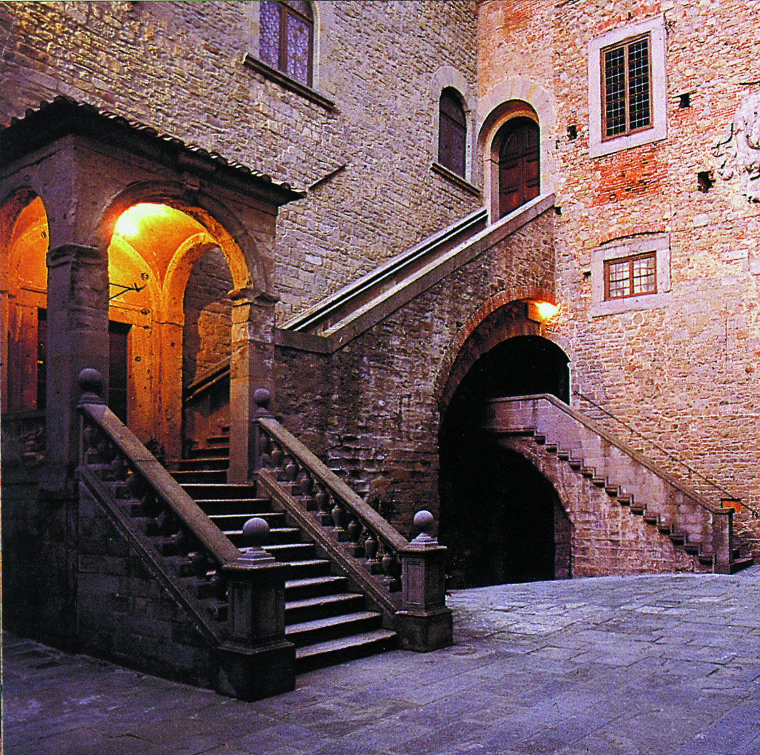 Patio de el Palazzo Casali