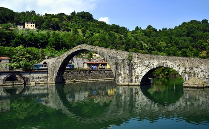 Puente del Diablo en Borgo a Mozzano